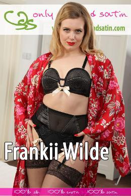 Frankii Wilde at OnlySilkAndSatin