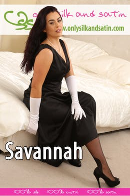 Savannah at OnlySilkAndSatin